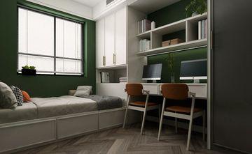 120平米三现代简约风格书房效果图