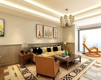 130平米四室一厅美式风格玄关设计图