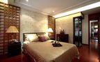 5-10万140平米三室三厅东南亚风格卧室欣赏图