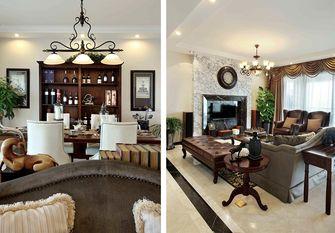 130平米三室两厅田园风格走廊设计图