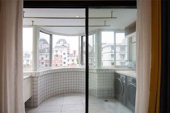 90平米三室一厅混搭风格阳台图