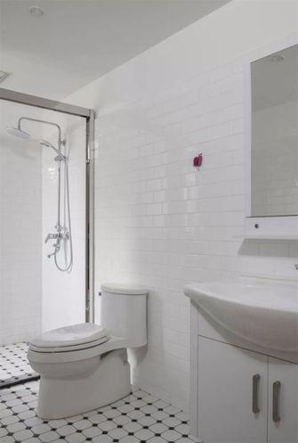 80平米日式风格卫生间图片