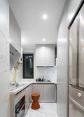 80平米三宜家风格厨房图