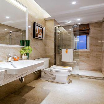 140平米三室一厅新古典风格卫生间装修案例