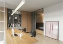 50平米一居室北欧风格餐厅图