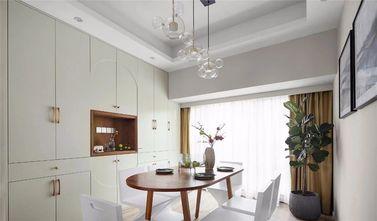 120平米三室一厅混搭风格餐厅效果图