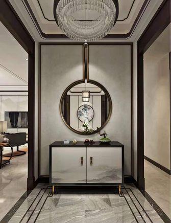 140平米三室一厅新古典风格玄关欣赏图