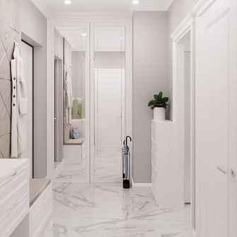 50平米公寓现代简约风格玄关图