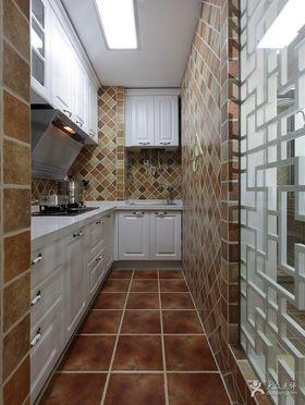 5-10万70平米美式风格厨房图