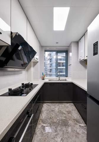 豪华型120平米四室两厅现代简约风格厨房装修图片大全
