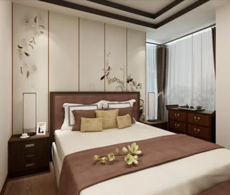 110平米公寓中式风格卧室图片