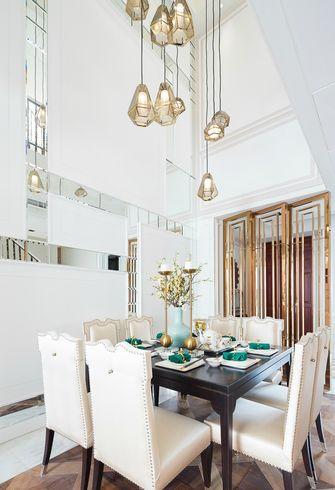 140平米复式法式风格餐厅欣赏图