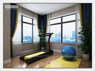 100平米三室一厅法式风格健身室装修图片大全