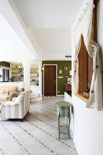 130平米一室一厅田园风格玄关装修案例