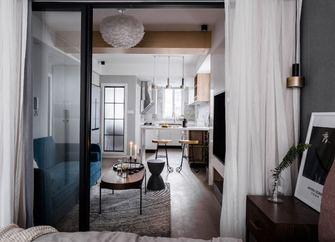 50平米公寓北欧风格卧室装修案例