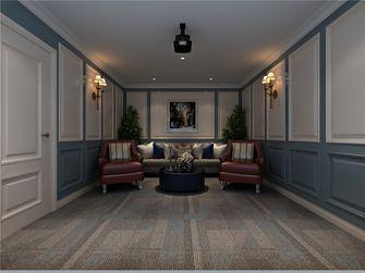 140平米复式美式风格影音室图