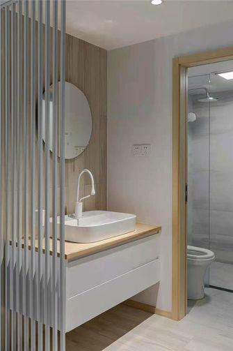 120平米三室两厅北欧风格卫生间效果图