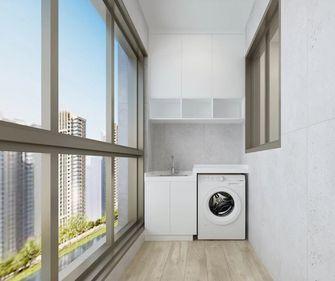 130平米三室一厅现代简约风格阳台装修效果图