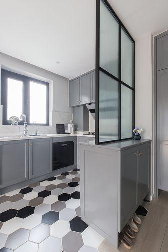50平米一居室宜家风格厨房设计图