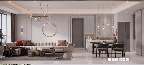 110平米三室两厅法式风格走廊装修案例