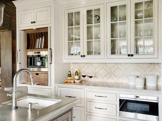 140平米别墅地中海风格厨房图片大全