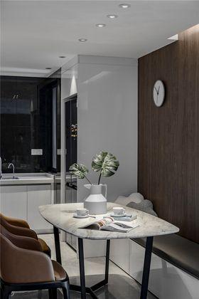 80平米三室一厅现代简约风格餐厅装修图片大全