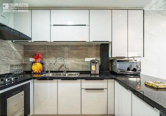 120平米三室两厅欧式风格厨房家具设计图