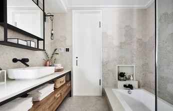 60平米一居室现代简约风格卫生间装修案例