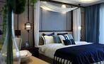 70平米公寓中式风格卧室图