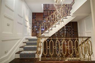 130平米三新古典风格楼梯间图
