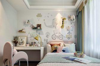 100平米三室一厅中式风格儿童房装修效果图