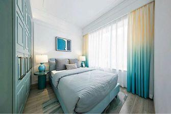 100平米三室两厅北欧风格卧室窗帘效果图