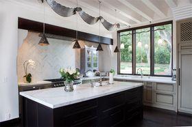 80平米地中海風格廚房裝修圖片大全