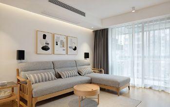 90平米三日式风格客厅效果图