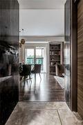 110平米三室两厅法式风格走廊图片