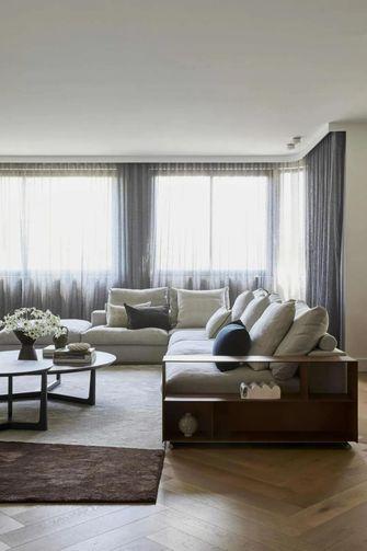 140平米混搭风格客厅欣赏图