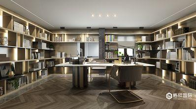 140平米复式现代简约风格书房装修效果图