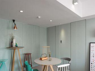 90平米一室一厅田园风格餐厅设计图