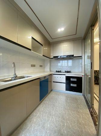 90平米三室两厅新古典风格厨房装修图片大全