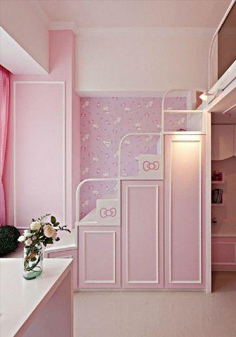 经济型50平米公寓现代简约风格楼梯欣赏图
