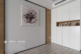 富裕型100平米现代简约风格玄关图片大全