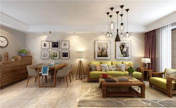 经济型90平米三室两厅北欧风格客厅图