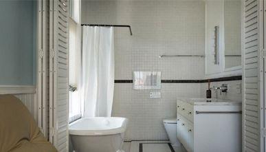 110平米三室两厅混搭风格卫生间图片大全