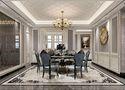 140平米四室一厅欧式风格餐厅图片