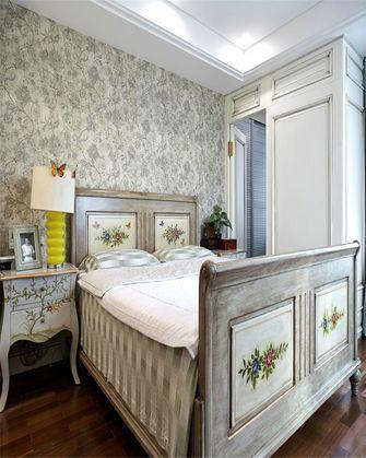80平米三室一厅田园风格卧室图片