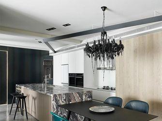 100平米三室两厅现代简约风格餐厅灯饰图片大全