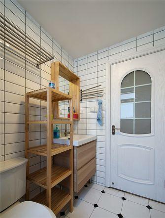 60平米一室两厅北欧风格卫生间装修案例