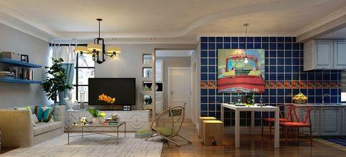 一室户地中海风格装修效果图
