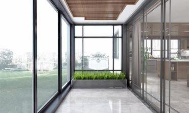140平米三中式风格阳光房效果图