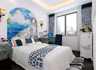 140平米四室四厅地中海风格卧室装修效果图